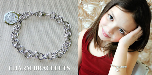 Charm bracelets for kids and adults