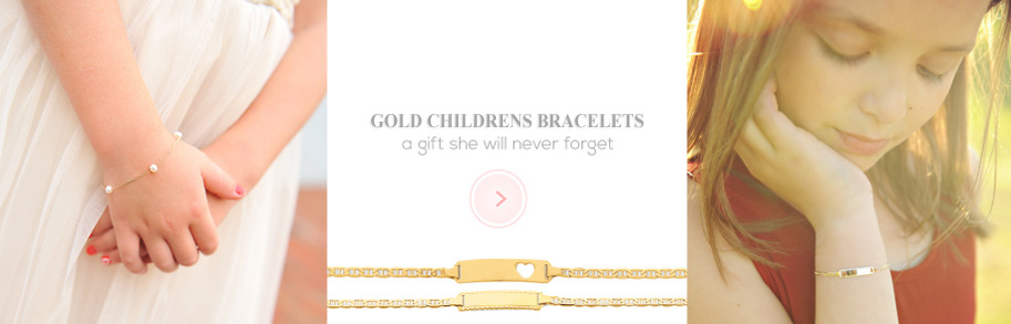 Gold Bracelets for Children