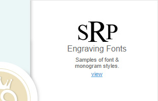 Font and monogram examples