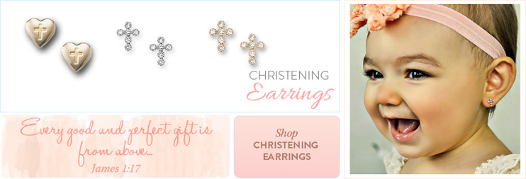 Shop Christening Earrings