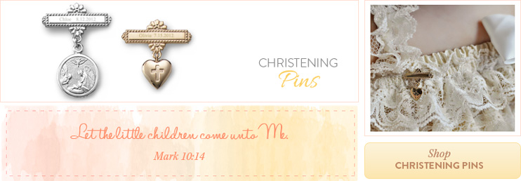 Shop Christening Pins