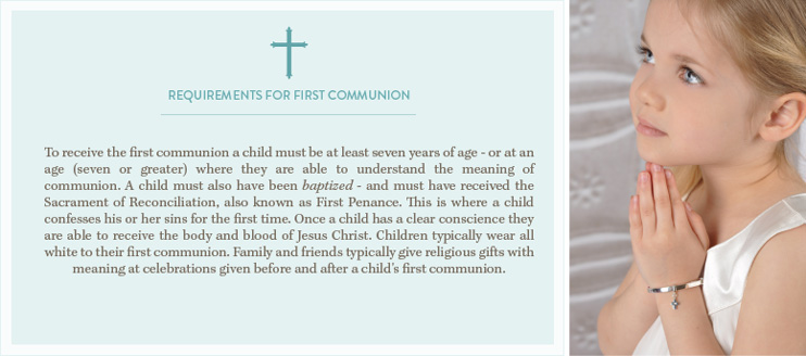 Requirements for First Communion