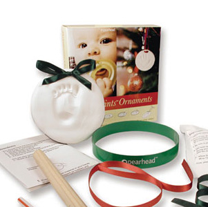Babyprints Keepsake Ornament Kit