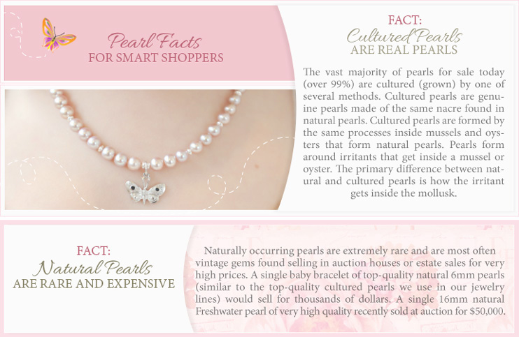 Facts about cultured pearls