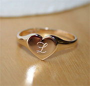 Engravable rings for girls
