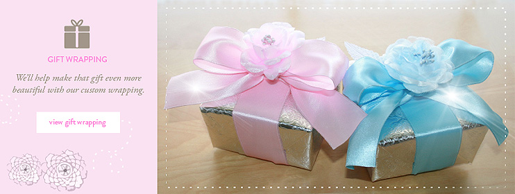 View gift wrap options
