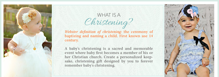 What is Christening?