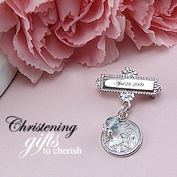 Baby bracelets christening gifts baptism gifts personalized beadifulbaby christening pins gifts negle Gallery
