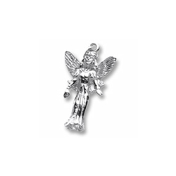 Rembrandt Sterling Silver Fairy Charm – Add to a bracelet or necklace/