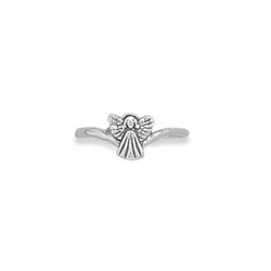 My Little Angel - Sterling Silver Ring - Sizes 5, 6, 7, 8, and 9 available - BEST SELLER/