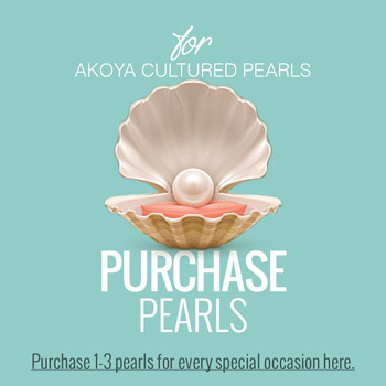 Purchase Pearls - Create-A-Pearl® Pearls by My First Pearls® - Premier Japanese Akoya Cultured Pearls - A Pearl at a Time® - Add a Pearl for Every Special Occasion - 6.0mm - 6.5mm