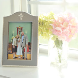 Best-Seller - Moments Captured™ - Tarnish-Resistant Sterling Silver-Plated Engravable Rectangular Picture Frame - 4