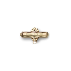 You Design it!  We Create It!® Custom Baptismal Pin - 14K Yellow Gold - Baby Christening Pin - BEST SELLER/