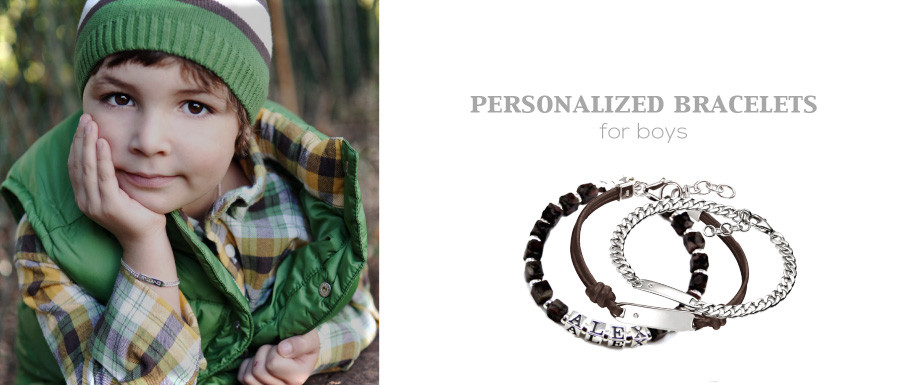 Personalized Bracelets for Boys