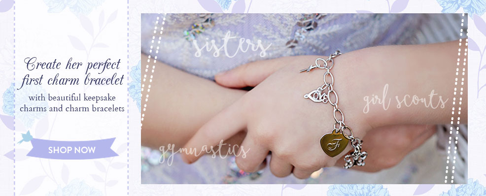 Shop charm bracelets for girls.