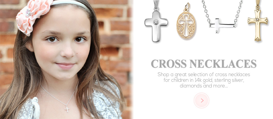 Cross Necklaces for Girls and Boys